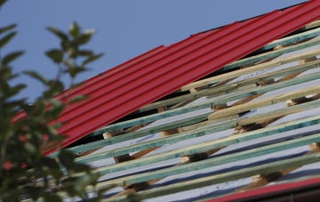 Ickles corrugated roofing costs